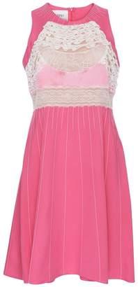 Valentino Silk and Lace Mini Dress