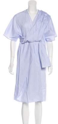 J.W.Anderson Striped Midi Dress