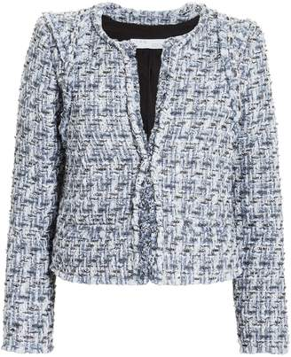 IRO Disco Blue Tweed Jacket