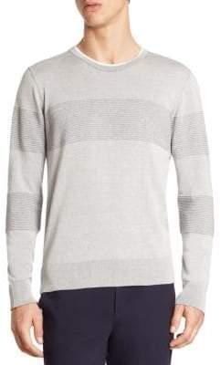 Saks Fifth Avenue MODERN Rib-Knit Crewneck Sweater