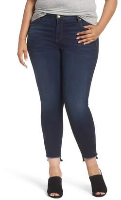 KUT from the Kloth Connie Step Hem Skinny Ankle Jeans