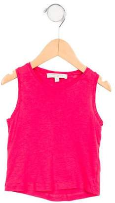 Caramel Baby & Child Girls' Sleeveless Scoop Neck Top