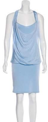 Philosophy di Alberta Ferretti Draped Knit Dress