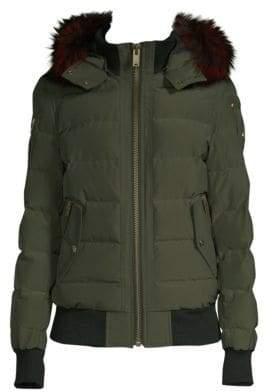 Moose Knuckles Seaforth Fur-Trim Quilt Jacket
