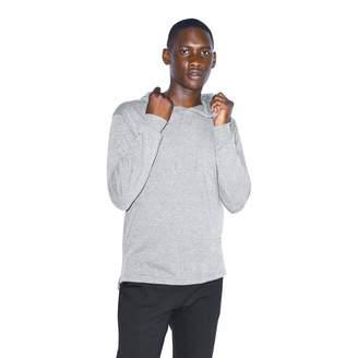 American Apparel Men's Tri-Blend Long Sleeve Pullover Hoodie