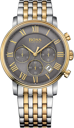 HUGO BOSS 1513325 elevated classic stainless steel watch $395 thestylecure.com