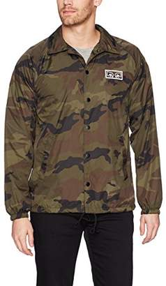 Obey Men's Eyes Coaches Jacket