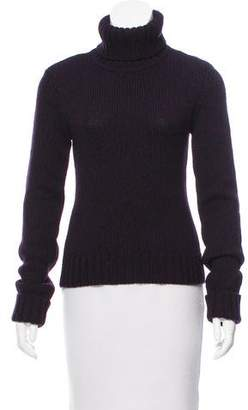 Theory Rib Knit Turtleneck Sweater