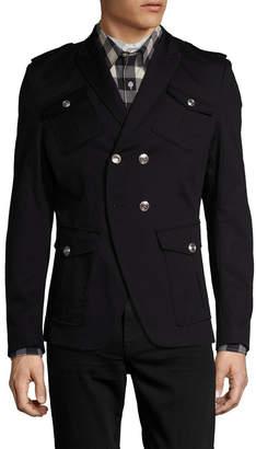 Pierre Balmain Peak Lapel Military Sportcoat