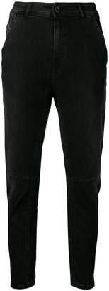 Diesel Black Gold carrot jeans in reform denim