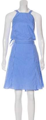 Fame & Partners Striped Midi Dress w/ Tags