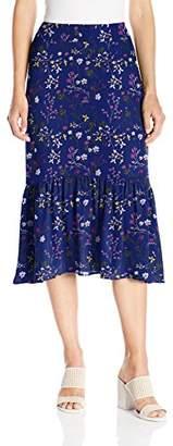 Paris Sunday Women's Bottom Flounce Skirt