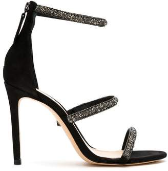 Schutz S2053200530001 BLACK Leather/Fur/Exotic Skins->Leather