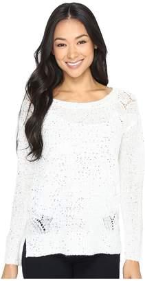 NYDJ Petite Petite Sequin Tunic Women's Clothing