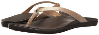 OluKai Ho'opio Leather Women's Sandals
