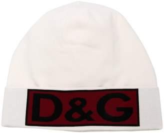 Dolce & Gabbana logo beanie