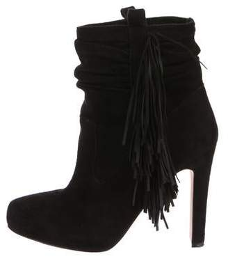 Jean-Michel Cazabat Fringe Ankle Boots