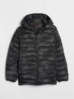 Gap ColdControl Lite Camo Puffer Jacket