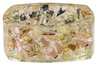 Chanel Faux Pearl, Sequin & Enamel CC Resin Bangle