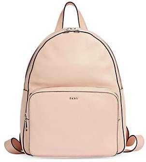DKNY Bari Leather Backpack