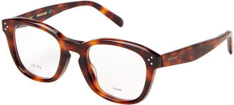 Celine CL41387/F Tortoiseshell-Look Square Optical Frames