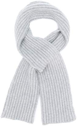 Pringle ribbed cross-over scarf
