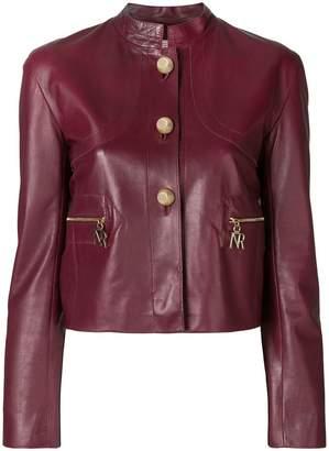 Nina Ricci embellished button jacket