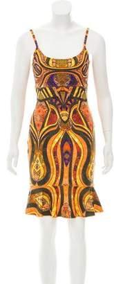 Torn By Ronny Kobo Sleeveless Flounce Dress w/ Tags