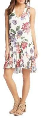 Karen Kane Floral-Print Day Dress