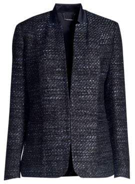 Elie Tahari Tori Tweed Jacket