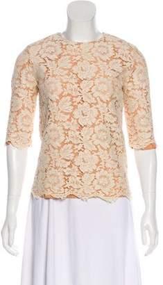 Stella McCartney Lace Button-Up Top