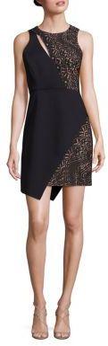 BCBGMAXAZRIA Kierra Satin Dress $338 thestylecure.com
