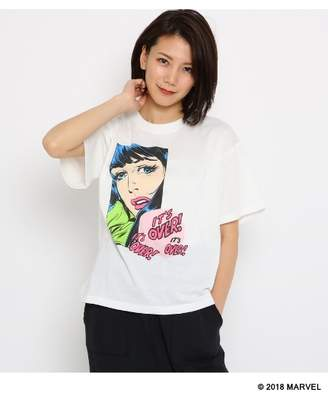 aquagirl (アクアガール) - エージー バイ アクアガール [限定アイテム]MARVEL/マーベル プリントTシャツ
