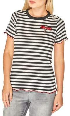 Dorothy Perkins Dragonfly Striped Tee