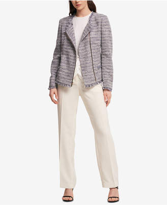 DKNY Tweed Blazer, Created for Macy's