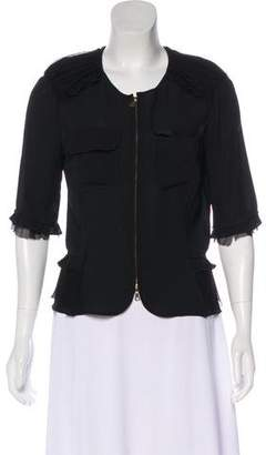 Nina Ricci Silk Evening Jacket w/ Tags