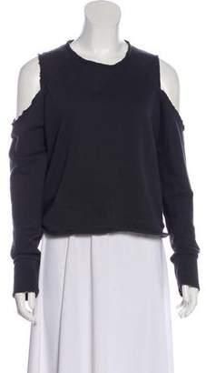 Rag & Bone Cold-Shoulder Long Sleeve Top