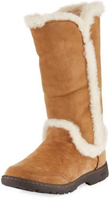 UGG Katia Shearling-Seam Boots