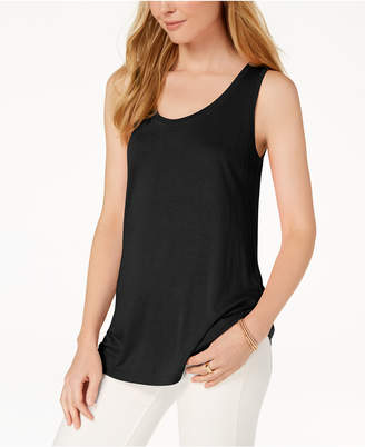 Maison Jules Scoop-Neck Tank, Created for Macy's