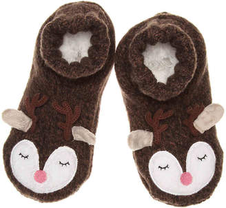 Mix No. 6 Reindeer Slipper Socks - Women's