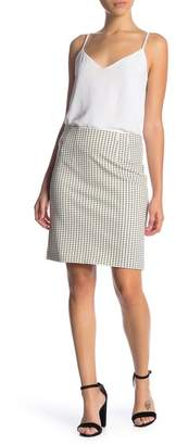 Amanda & Chelsea Pull On Ponte Pencil Skirt (Petite)