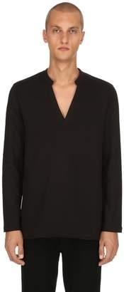 Diesel Black Gold V Neck Cotton Sweatshirt