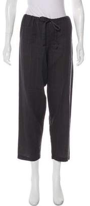 Alexander Olch Mid-Rise Straight-Leg Pants