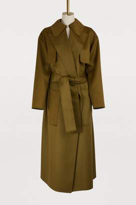 Maison Rabih Kayrouz Wool trench coat