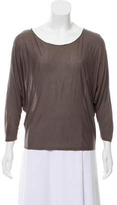 The Row Distressed Long Sleeve Top