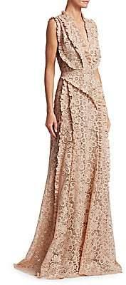Altuzarra Women's Medina Lace Gown
