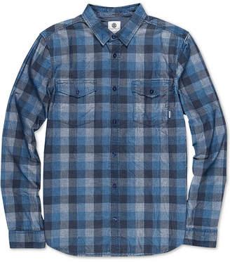 Element Men Tacoma Regular-Fit Yarn-Dyed Check Corduroy Shirt
