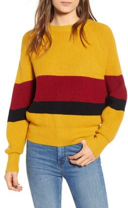 DREAMERS BY DEBUT Bold Stripe Sweater