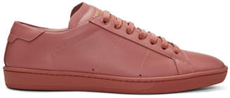 Saint Laurent Pink SL/01 Court Classic Sneakers
