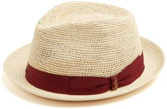 Panama woven and crochet straw hat Borsalino 7k2qi